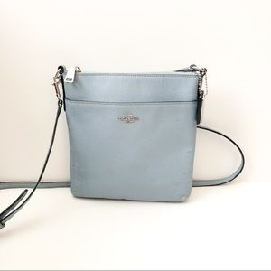 Coach baby blue crossbody as is